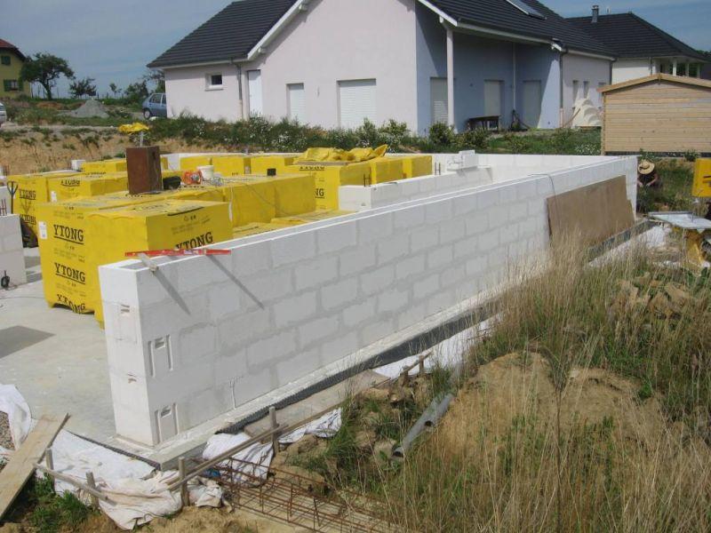 B la ceinture auto construction en b ton cellulaire en alsace - Construction beton cellulaire ...