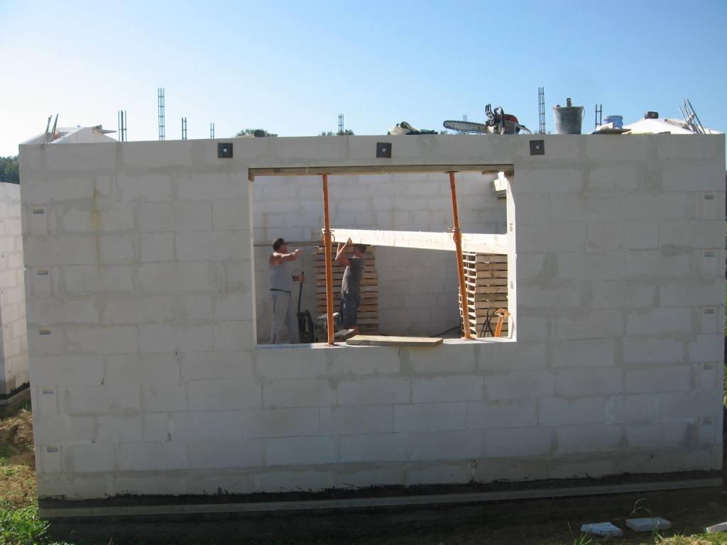 ... B Le Solivage Auto Construction En B Ton Cellulaire En For Mur Porteur  En Beton Cellulaire ...