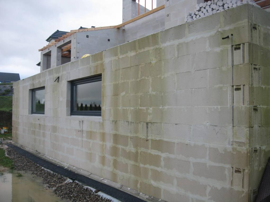 A au sous sol auto construction en b ton cellulaire en alsace - Sol en beton cellulaire ...